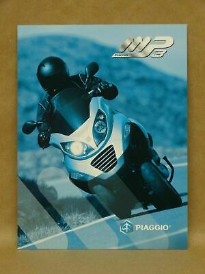 Vespa Piaggio Collection Moped Scooter Brochure Lx Gt Px