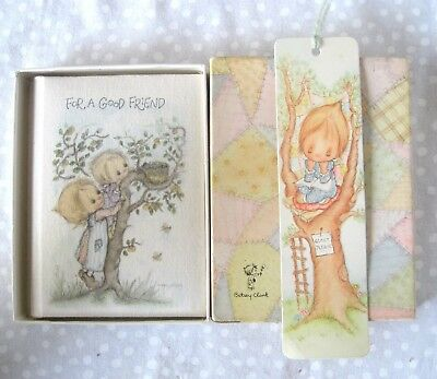 """BETSEY CLARK """"For A Good Friend"""" Book & Bookplate by Hallmark"""