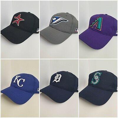 MLB Replica Adult Baseball Cap Hat Licensed Astros, Brewers, Braves, more