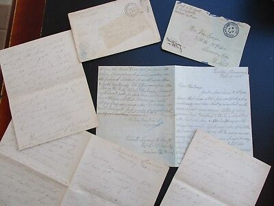 1918-19 (2) Germany,France Smith & Lopez family,signed content/letter,covers lot