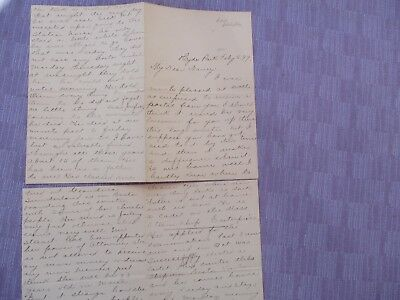 1899 Tumor removed,woman died after Operation,Hyde Park,Mass/L.Batchelder letter
