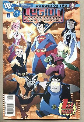 Legion Of Super-Heroes In The 31st Century #1-2007 nm- DC Batman