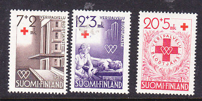 Finland Red Cross 1951 Complete set 496/8 Mint