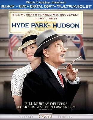 HYDE PARK ON HUDSON (Blu-ray/DVD, 2013, 2-Disc Set) New / Sealed / Free Shipping