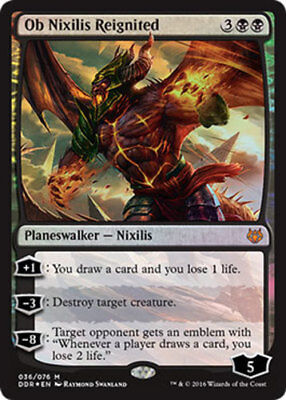 Ob Nixilis Reignited - Foil x1 Magic the Gathering 1x Duel Decks: Nissa vs. Ob N