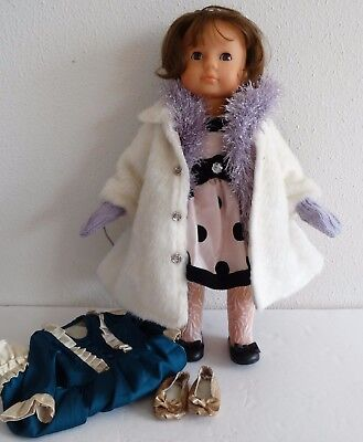 """GOTZ Germany 18"""" brown eyes/hair Limited Ed. Puppe Doll numbered with 3 outfits"""