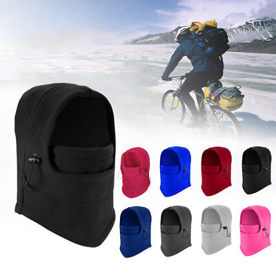 Hat Hooded Neck Warmer Winter Sports Face Mask for Ski Bike Motorcycle Helmet