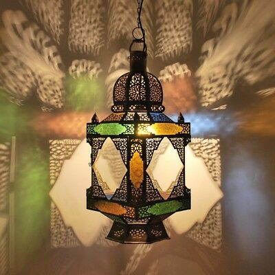 """Oriental Moroccan Arabic Hanging Lamp Brass """" Care Bubbles Made of Brass"""