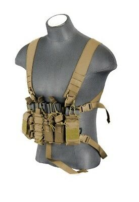 Recon Tactical Lightweight One Size Chest Rig  BROWN
