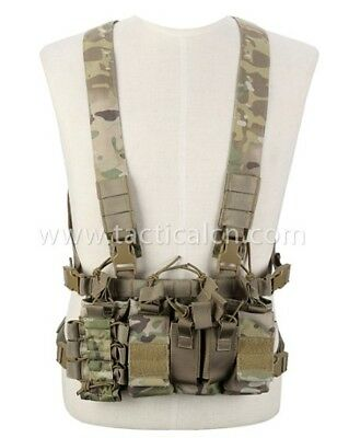 Recon Tactical Lightweight One Size Chest Rig - MULTICAMO