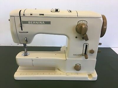 Bernina Sewing Machine. Record. 730. VGC (with Accessories & Instructions)