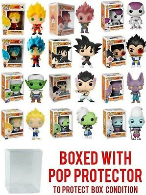 Funko Pop Dragon Ball Z : Goku, Vegeta, Piccolo, Gohan, Trunks Vinyl Figure NEW