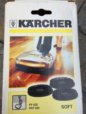 Karcher 3 Soft brush pad set for FP/PST222 - Polish application