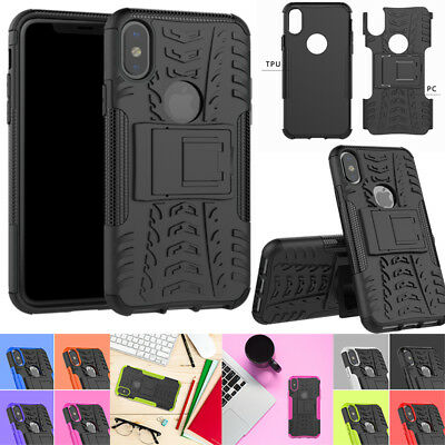 Hybrid Armor Shockproof Rugged Bumper Case For Apple Iphone XS Max 7/8+ 6S Plus