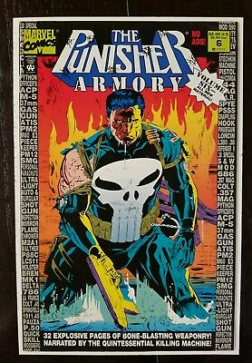 The Punisher Armory #6 (Apr 1993, Marvel) NM 9.8 Combined Shipping A1
