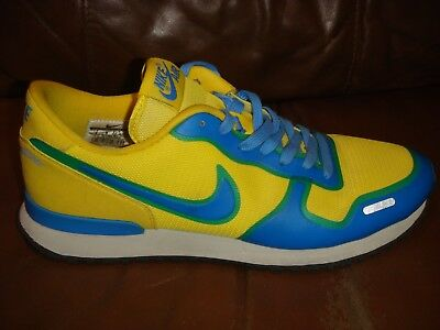NIKE AIR VORTEX FUSE TOUR Trainers YELLOW BLUE Size 8