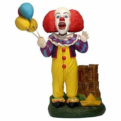 """IT 1990 Mini-Series ~ PENNYWISE the Clown ~ 8"""" Bobble Head by FOCO Products 2018"""
