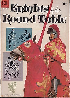 FOUR COLOR..#540 1954 DELL -KNIGHTS of ROUND TABLE PHOTO-c  MGM MOVIE...VG/FN