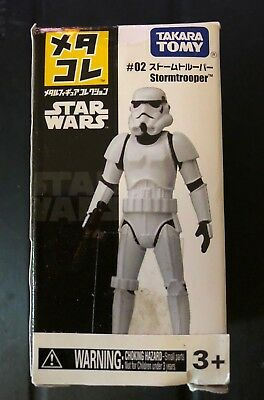 Star Wars - Stormtrooper Mini Metal Action Figure by Takara Tomy New in Box