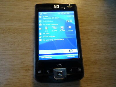 HP iPAQ 214 Enterprise PDA TOUCH SCREEN, WINDOWS MOBILE HANDHELD POCKET PC