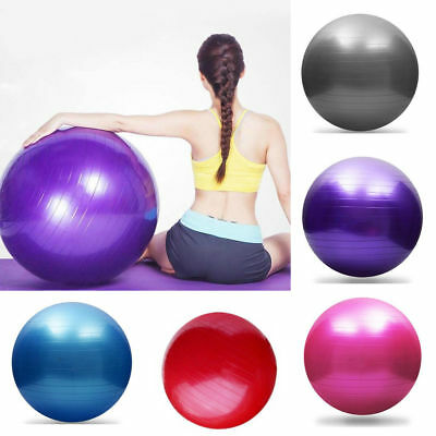 Exercise Ball Large Swiss Yoga Pregnancy Birthing Ball & Pump 55 65 75 95 CM