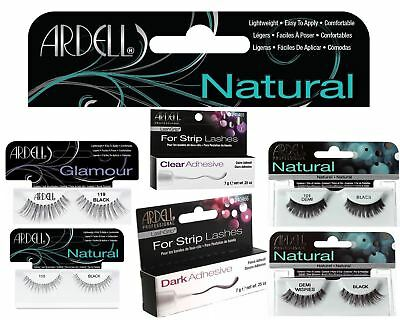 UK - Ardell 100% Human Hair False Eyelashes Fashion/Natural/Adhesive