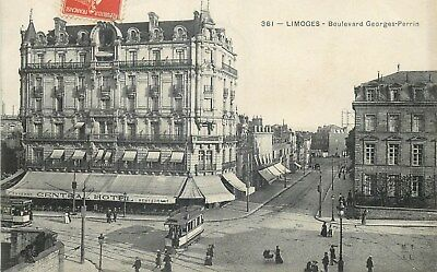 87 Limoges Boulevard Georges-Perrin Anime - Tramway