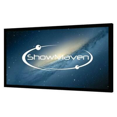 "100"" Inch 16:9 Fixed Frame Projector Screen Home Theatre HD TV 3D Projection"