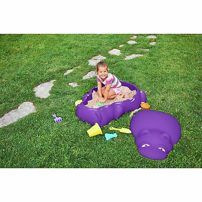 Chad Valley Hippo Sand Pit - Purple