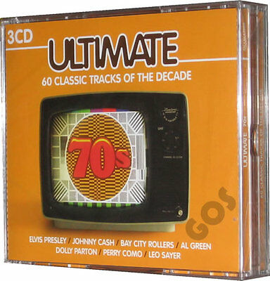 The Ultimate 70s Seventies Songs 60 Music Tracks Original Recordings 3 CDs New
