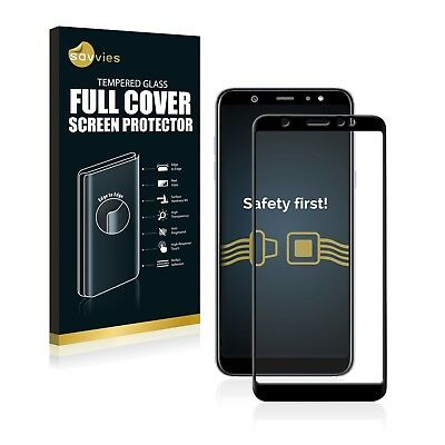 Full Cover Samsung Galaxy A6 Plus (2018) 9H Tempered Glass Screen Protector Film