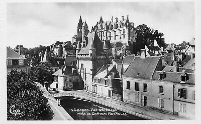 37 Loches Vue Generale Vers Chateau Royal Ll