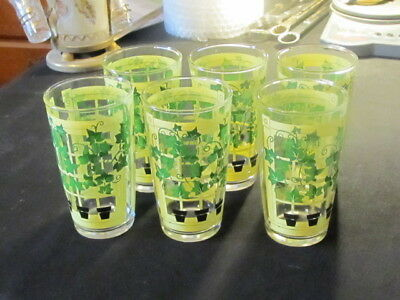 Set of 6 Tumblers Swigs Ivy Growing over windows