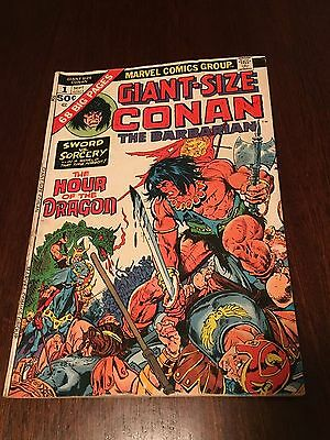 Marvel Giant-Size Conan The Barbarian  #1 ***very Good+***    Look!!!