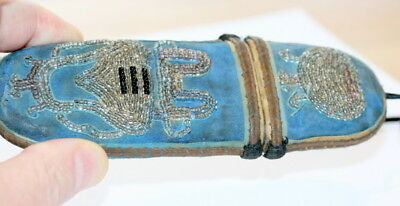 C1800 , Quality Chinese Bead Work Spectacles Case Etui , Page 90 In My Book