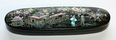 Finest Quality Work, Japanese Laquered Spectacles Eyeglass Case Etui , C1890