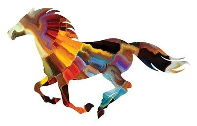 Next Innovations 101410020-MAYANSUN 24 x 15 in. Mayan Sun Running Horse Wall Art