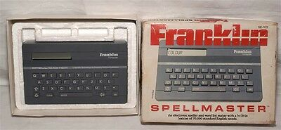 Vintage Franklin Spellmaster With Box -  Good Condition