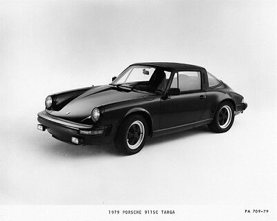 1979 Porsche 911SC Targa Factory Photo cb2381