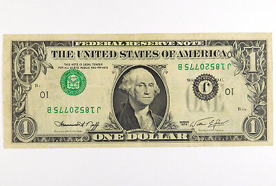1974 $1 Federal Reserve Error Note - Inverted 3rd Printing
