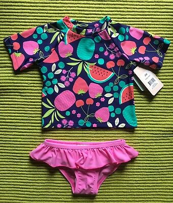 NWT FLOATIMINI  2 PIECE Bathing SUIT SIZE 24 MONTHS