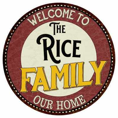 The Rice Family Personalized Blue Game Room Metal Sign 106180037040