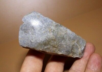 Perfect Tool of Neolithic Age.Axe head.Polished Axe tool.Stone age HAMMER #112