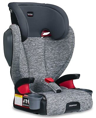 Britax Highpoint Belt-Positioning Child Safety Booster Car Seat Asher NEW