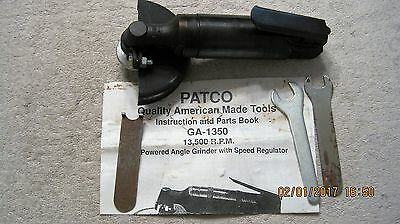 """Patco Grinder 4"""" Right Angle Ga-1350"""