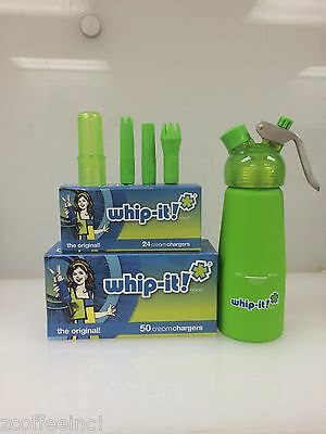 600 Whipped Cream Chargers Best Quality COMBO GREEN
