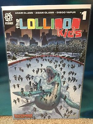 AFTERSHOCK Comics THE LOLLIPOP KIDS #1 BALTIMORE COMIC CON Exclusive Variant NM