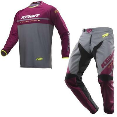 Kenny ELITE MTB Pantaloni 2019 Nero Oro Motocross Enduro MX CROSS