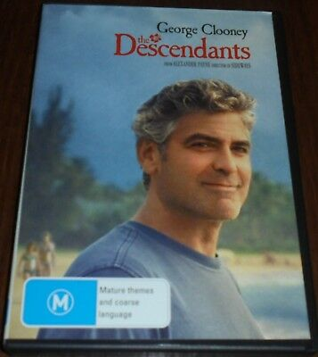 The Descendants Dvd Region 4 (George Clooney)