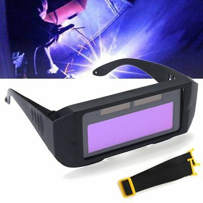 Solar Powered Auto LCD Darkening Welding Mask Helmet Eyes Goggle Welder Glasses